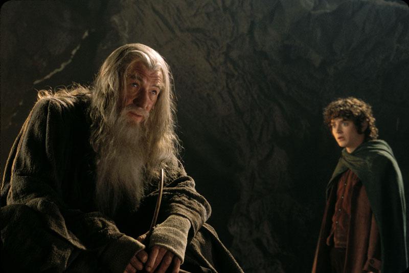 Screening Press CD - ROM - Gandalf and Frodo in Moria - 800x533, 63kB