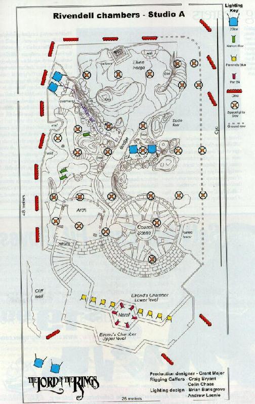 Architectual Plans For Rivendell Set - 504x800, 89kB