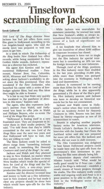 Media Watch: Sunday Star Times Talks Jackson - 444x800, 140kB