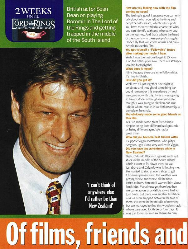 Woman's Weekly Article - Sean Bean - 603x800, 113kB