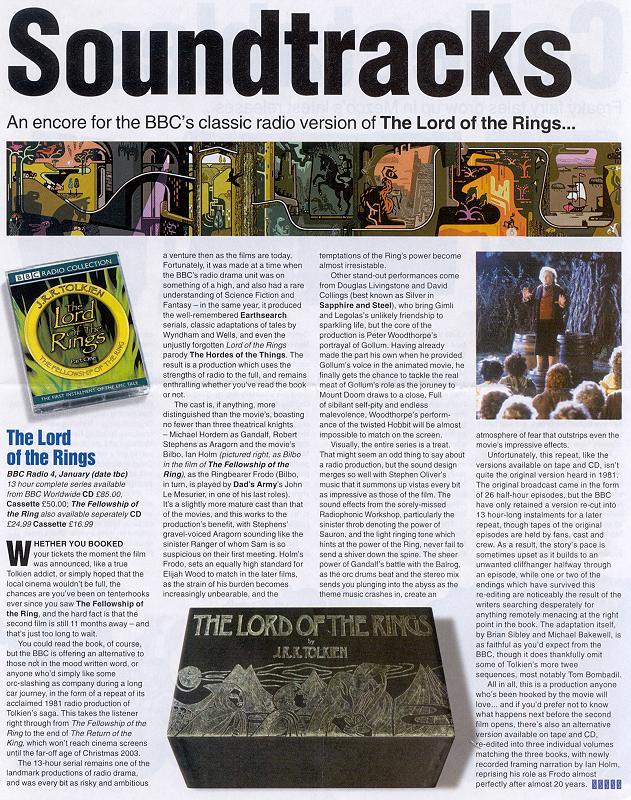 Media Watch: Starburst Magazine - 631x800, 166kB