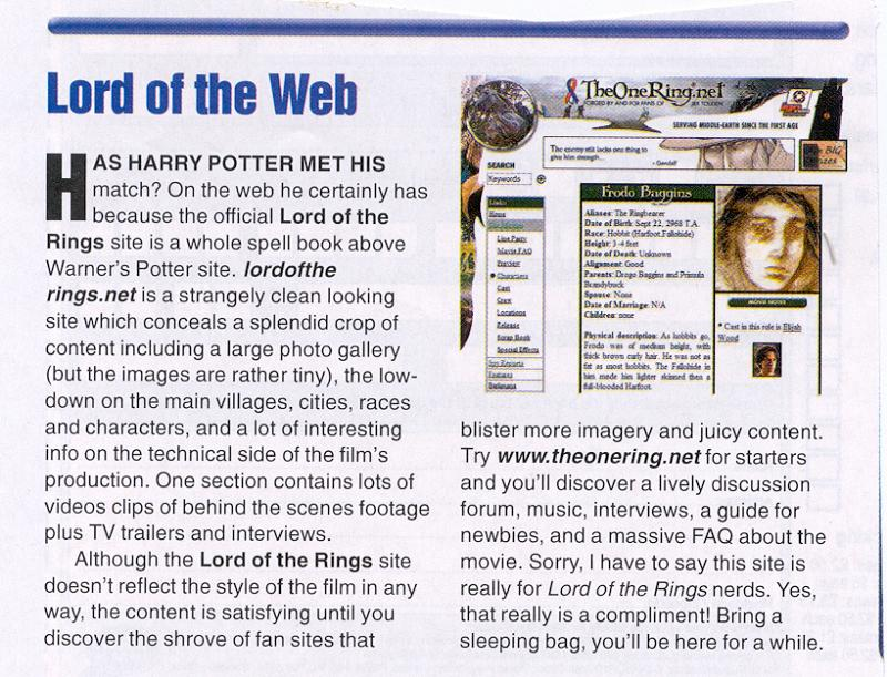 Media Watch: Starburst Magazine talks TORn! - 800x611, 120kB
