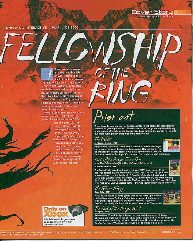 Fellowship Of The Ring - Q2 2002 - 633x790, 171kB