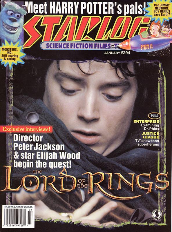 Starlog Magazine: Frodo Baggins - 593x800, 108kB