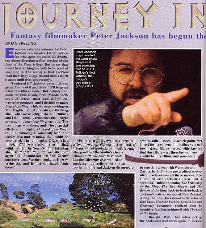 Starlog Magazine: Peter Jackson - 667x737, 143kB