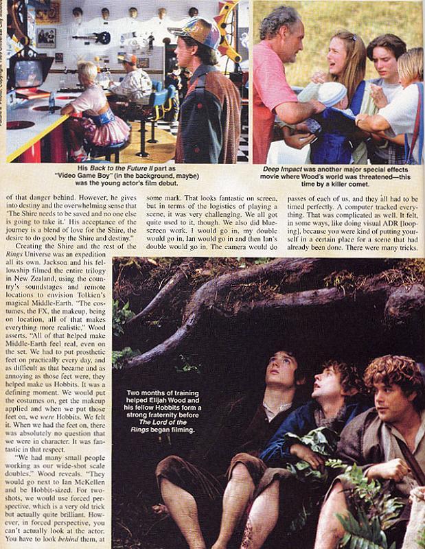 Starlog Magazine: Elijah Wood - 619x800, 137kB