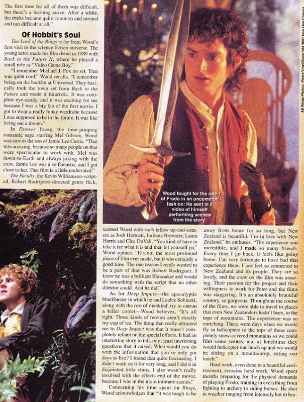 Starlog Magazine: Frodo - 605x800, 137kB