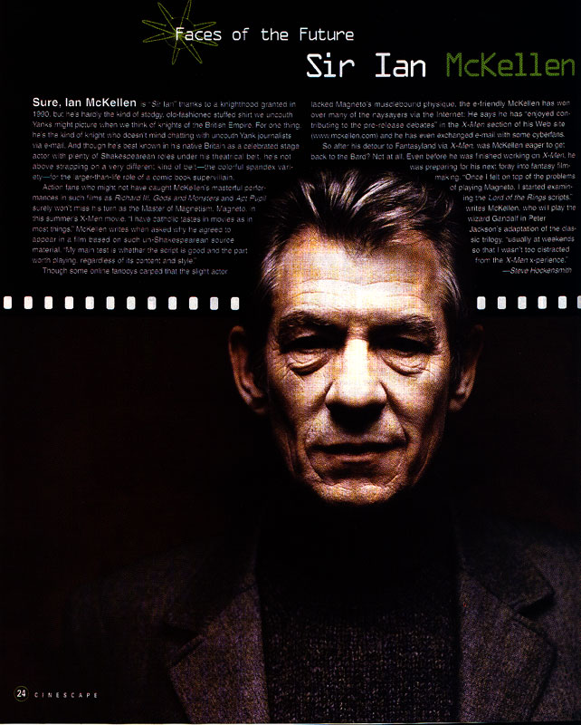 Ian McKellen Talks X-Men - 642x800, 116kB