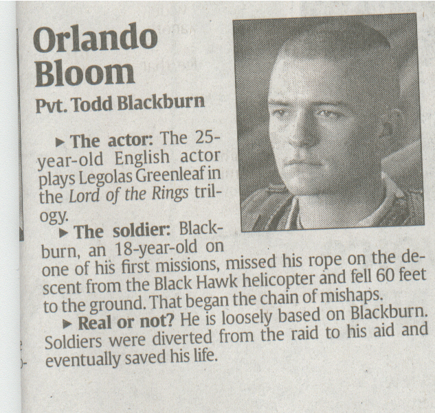 Black Hawk Down Featurette With Orlando Bloom - 633x602, 463kB