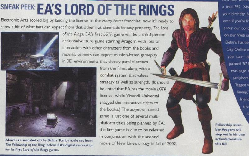 Game Pro Magazine: Aragorn - 800x501, 80kB
