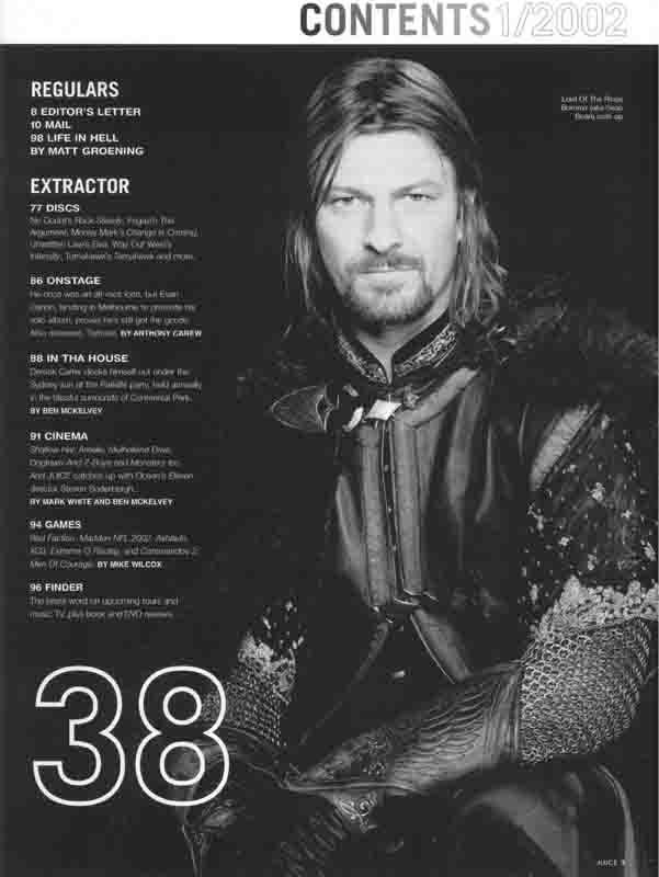 Juice Magazine: Boromir - 601x800, 29kB