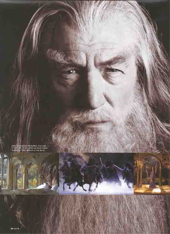 Juice Magazine: Gandalf the Grey - 581x800, 29kB
