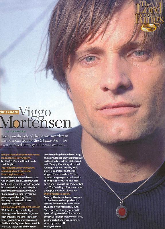 Total Film Magazine: Viggo Mortenson - 576x800, 101kB