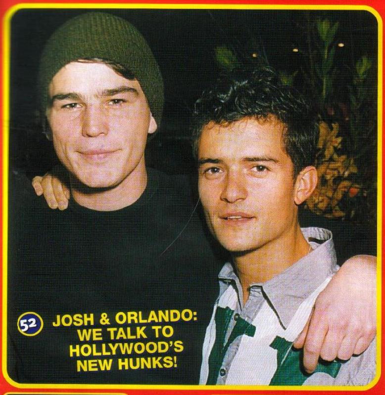 Big Hit Magazine: Orlando Bloom and Josh Hartnett - 778x800, 118kB