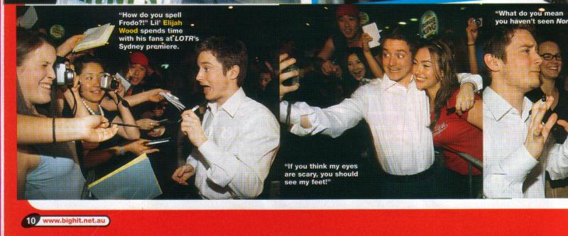 Big Hit Magazine: Elijah Wood - 800x333, 54kB