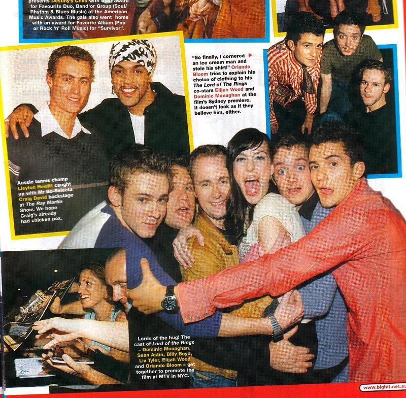 Big Hit Magazine: Fellowship Cast - 800x784, 185kB