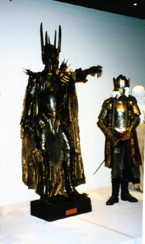 The Art of Motion Picture Costume Design Exhibit: Sauron - 475x800, 44kB