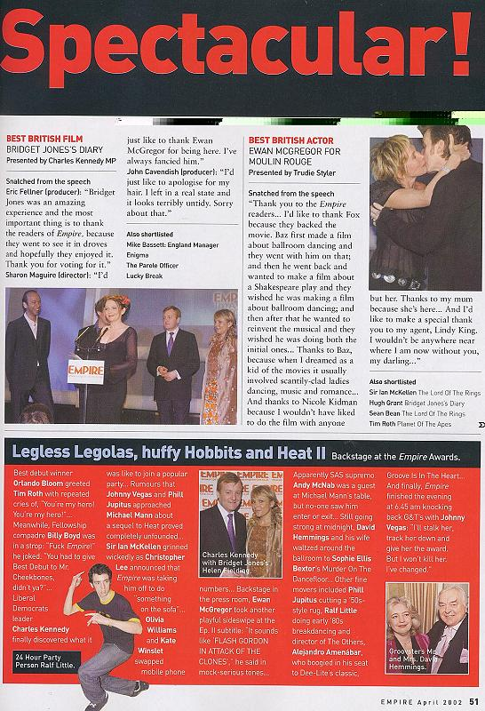 Empire Magazine reports on the 2002 Empire Awards - 546x800, 133kB