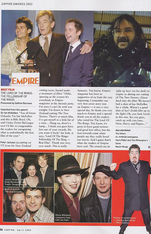Empire Magazine reports on the 2002 Empire Awards - 516x800, 114kB