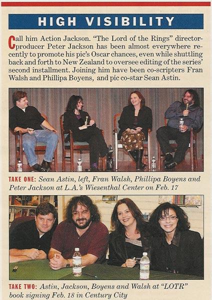 Media Watch: Variety Magazine Talks Brentano's Book Signing - 424x600, 90kB