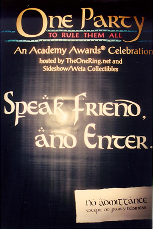 'Speak Friend and Enter' Sign - 536x800, 55kB