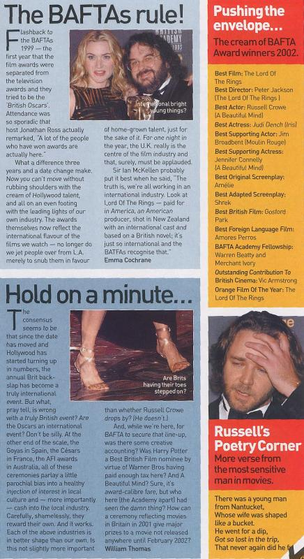 Media Watch: Empire Magazine Talks Baftas - 436x800, 92kB