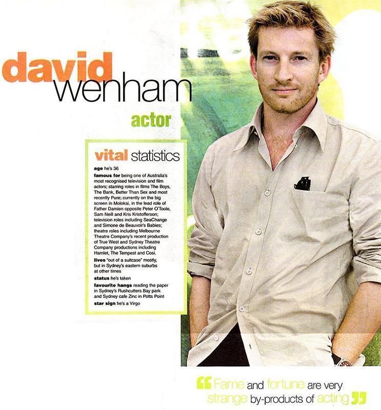 Media Watch: The Sunday Telegraph Talks Wenham - 743x800, 90kB