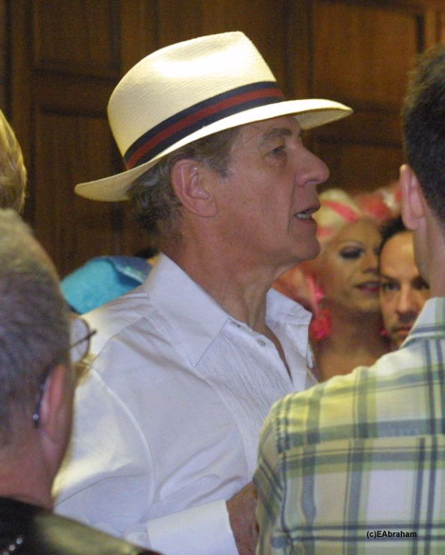 Ian McKellen At Gay Pride Parade - 642x800, 56kB