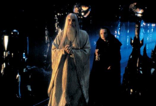 TTT Production Still: Saruman & Wormtongue - 525x355, 27kB