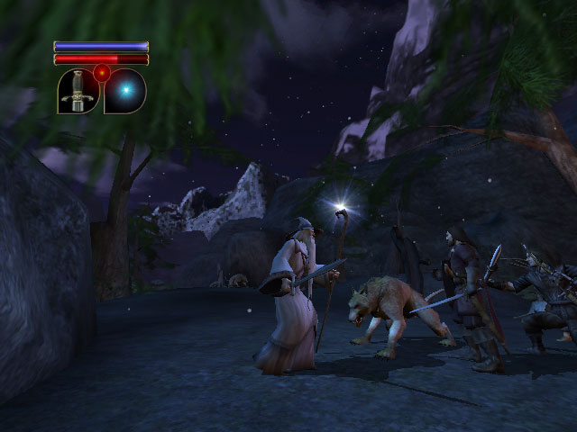 Lord of The Rings XBOX Screenshots - 640x480, 48kB