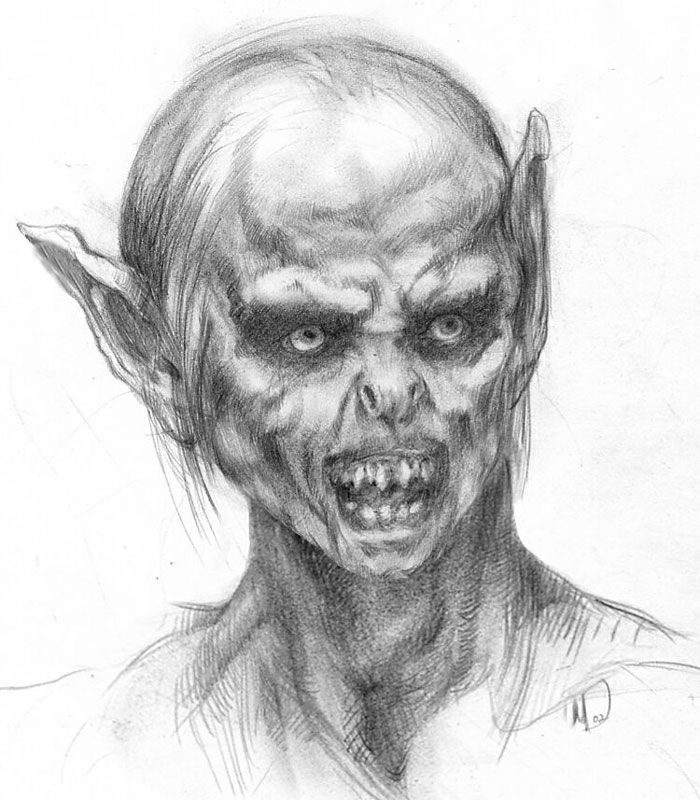 Lord of The Rings Concept Art - 700x800, 104kB