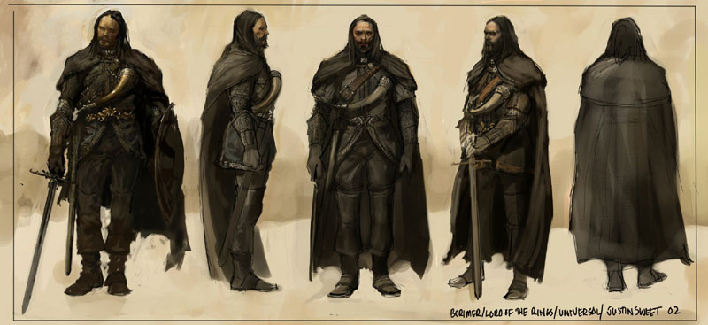 Lord of The Rings Concept Art - 800x367, 62kB