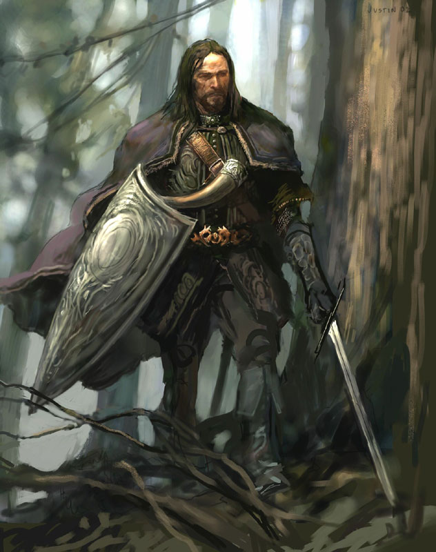 Lord of The Rings Concept Art - 632x800, 91kB