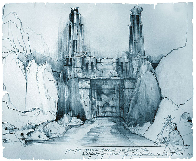 Lord of The Rings Concept Art - 800x658, 158kB