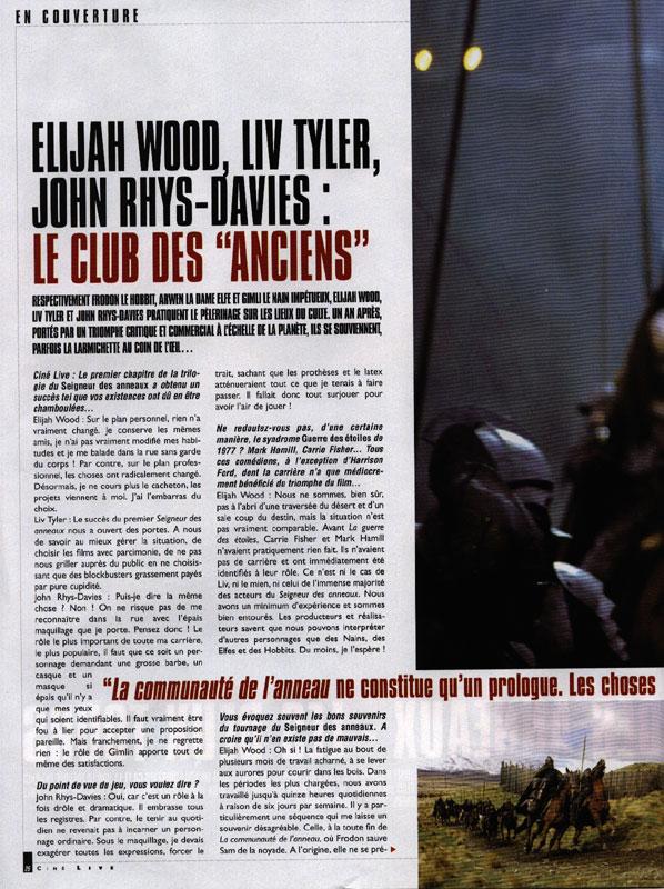 Media Watch: Cine Live Magazine - 598x800, 152kB