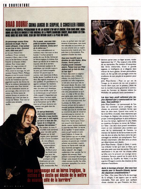 Media Watch: Cine Live Magazine - 598x800, 175kB