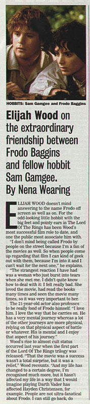 Media Watch: UK's Sunday Express LOTR Special - 178x800, 63kB