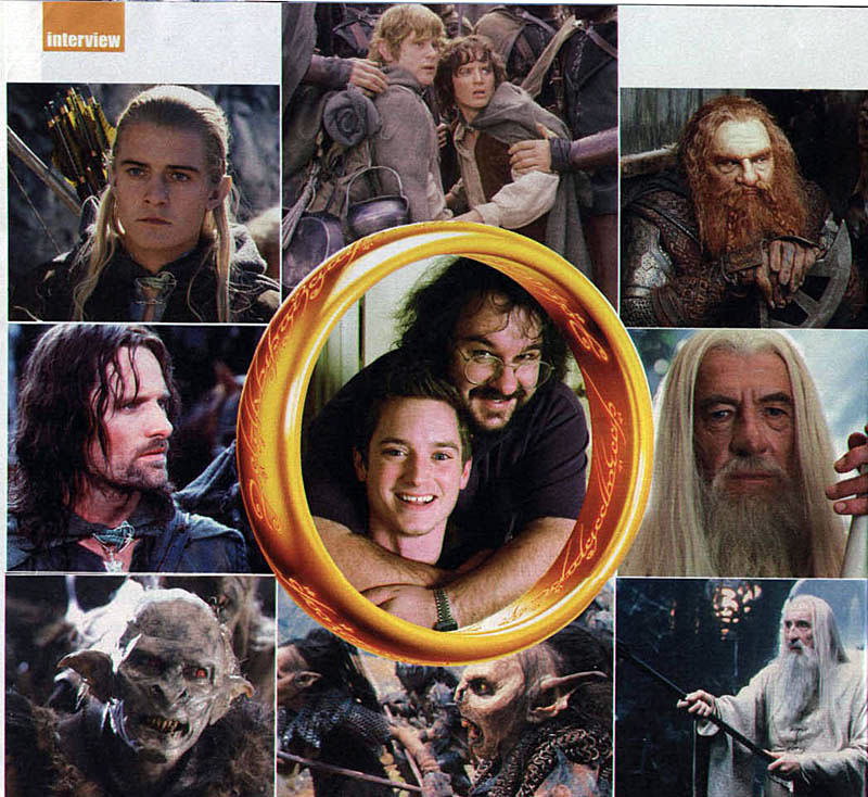 Media Watch: UK's Sunday Express LOTR Special - 800x734, 149kB