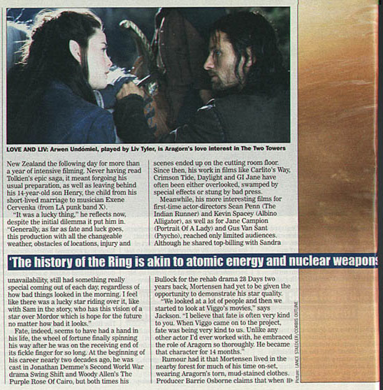 Media Watch: UK's Sunday Express LOTR Special - 548x558, 120kB