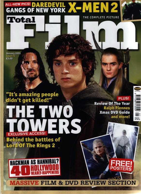 Media Watch: Total Film Magazine - 583x800, 145kB
