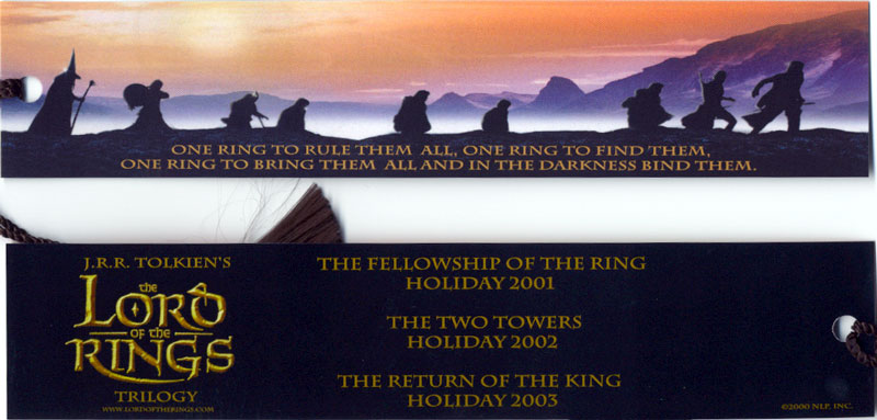 Good look at LOTR Bookmark! - 800x383, 70kB