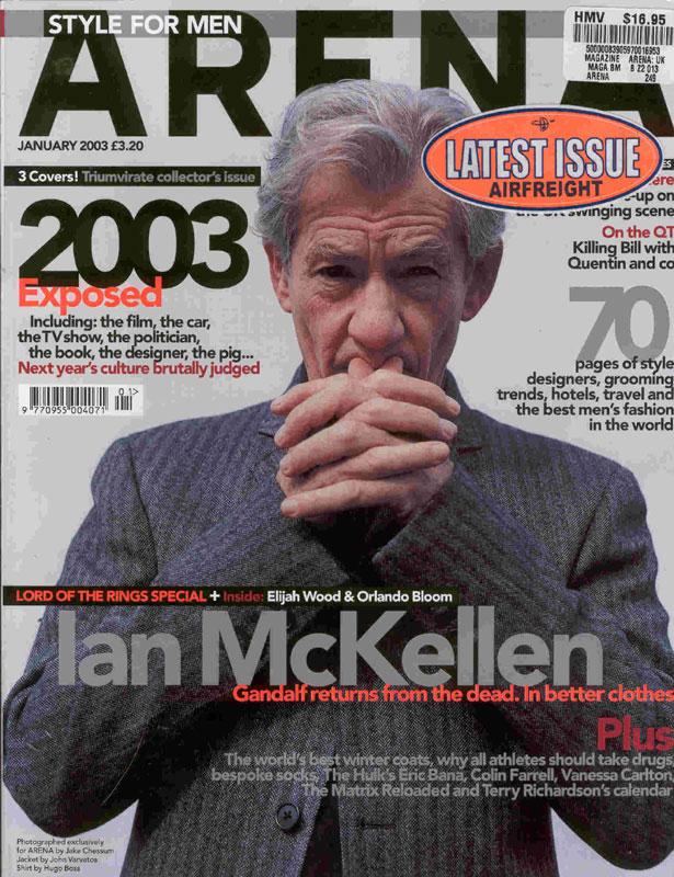 Media Watch: Arena Magazine - 615x800, 151kB