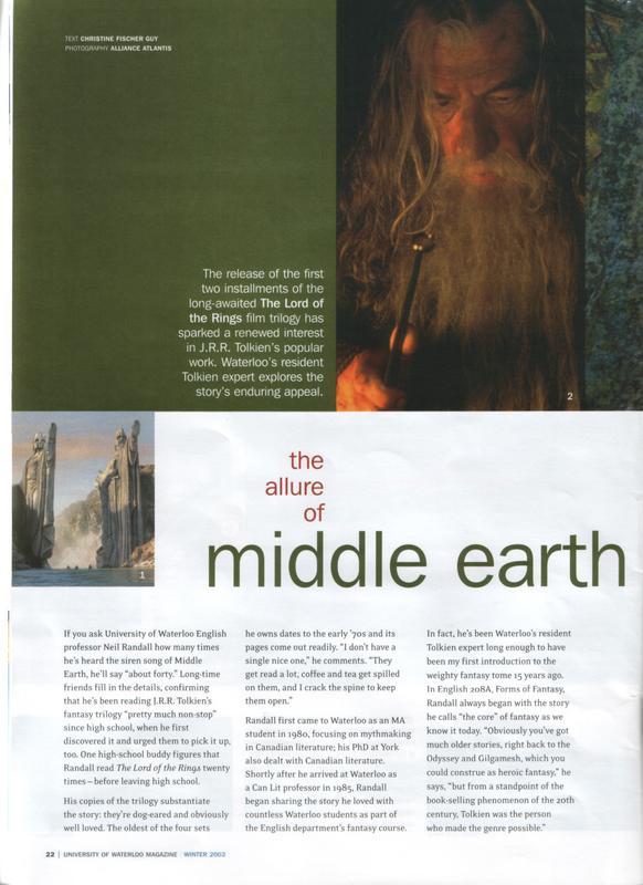 The University of Waterloo Magazine - 582x800, 60kB