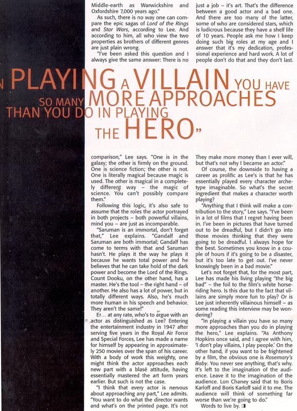 Media Watch: Cinescape Magazine - 578x800, 152kB