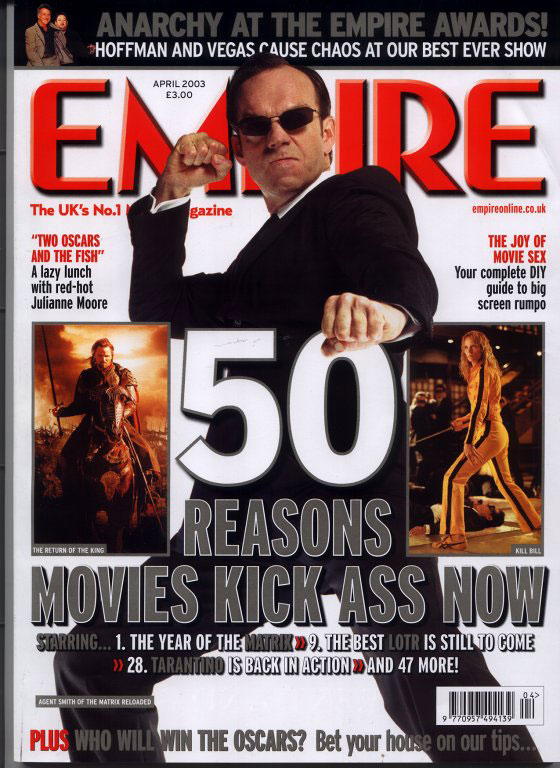 Empire Magazine - April 2003 - 560x768, 124kB