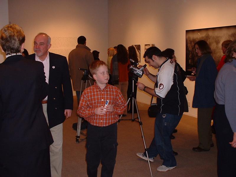 Viggo Mortensen exhibit at SLU - 800x600, 399kB