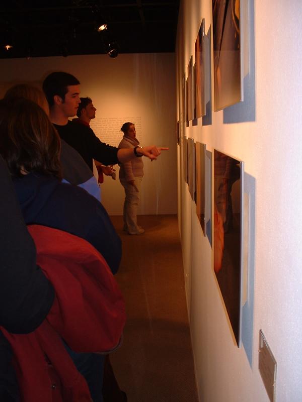 Viggo Mortensen Photo Gallery at SLU, Canton New York - 600x800, 313kB