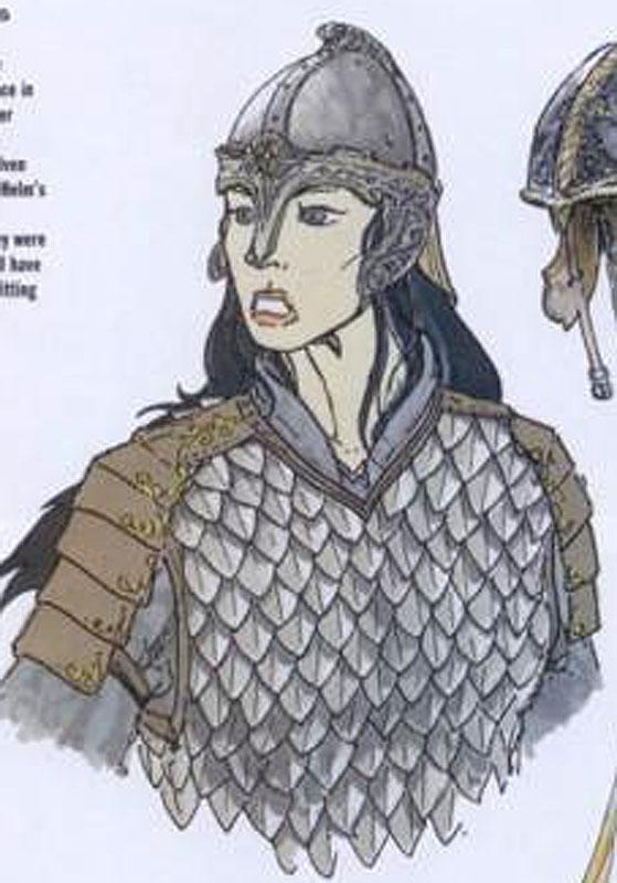 Arwen At Helms Deep Armour - 559x800, 77kB