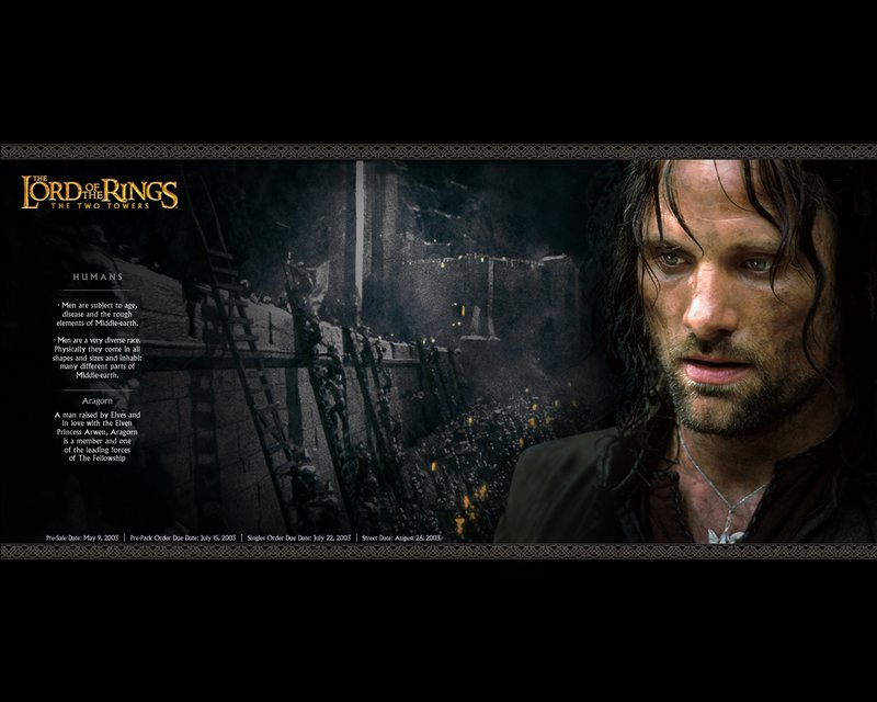 Aragorn Wallpaper From TTT DAK - 800x640, 71kB