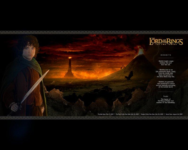 Frodo Wallpaper From TTT DAK - 800x640, 65kB